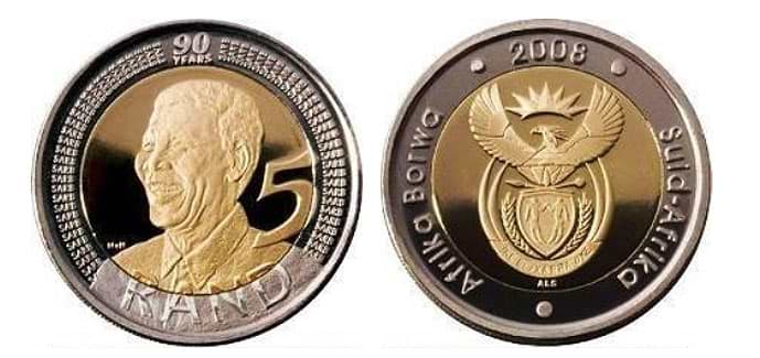 How Much is the 2008 Mandela 5 Rand Coin Worth? [Answered: R150,000]