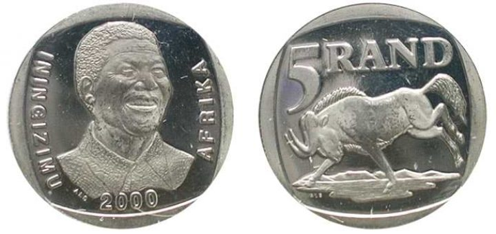 Sell Mandela Coins at CoinTrader.co.za [2000 R5 Coin Value R5,000]
